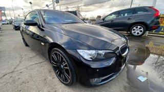 2007 BMW 3 Series E93 335i Steptronic Black 6 Speed Sports Automatic Convertible.