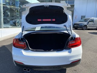 2015 BMW 2 Series F22 220d M Sport White 8 Speed Sports Automatic Coupe