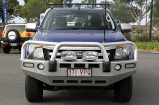 2015 Ford Ranger PX XLS Double Cab Blue 6 Speed Manual Utility