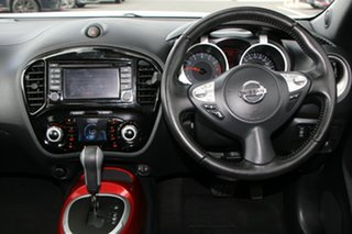 2016 Nissan Juke F15 Series 2 Ti-S X-tronic AWD N-SPORT White 1 Speed Constant Variable Hatchback