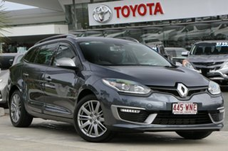 2015 Renault Megane III K95 Phase 2 GT-Line Sportwagon EDC Grey 6 Speed Sports Automatic Dual Clutch.