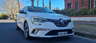 2016 Renault Megane BFB GT-Line EDC White 7 Speed Sports Automatic Dual Clutch Hatchback.
