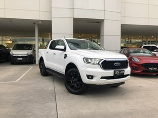 2021 Ford Ranger PX MkIII 2021.25MY XLT White 10 Speed Sports Automatic Double Cab Pick Up.