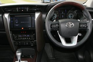 2018 Toyota Fortuner GUN156R Crusade Glacier White 6 Speed Automatic Wagon