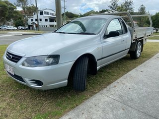 2007 Ford Falcon BF Mk II XL Super Cab Silver 4 Speed Sports Automatic Cab Chassis.