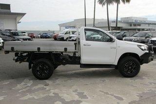 2016 Toyota Hilux GUN126R SR Glacier White 6 Speed Sports Automatic Cab Chassis