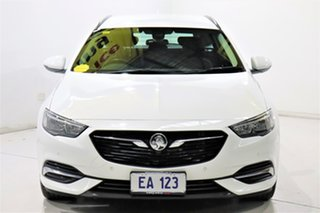 2018 Holden Commodore ZB LT White 9 Speed Automatic Sportswagon.
