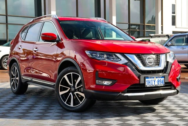 Used Nissan X-Trail T32 Series III MY20 Ti X-tronic 4WD Attadale, 2020 Nissan X-Trail T32 Series III MY20 Ti X-tronic 4WD Red 7 Speed Constant Variable Wagon