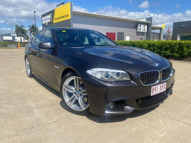 Used BMW 5 Series F10 MY1112 528i Steptronic Townsville, 2013 BMW 5 Series F10 MY1112 528i Steptronic Grey/200913 8 Speed Sports Automatic Sedan