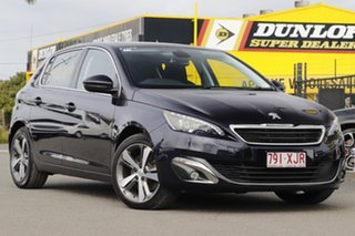 2016 Peugeot 308 T9 MY17 Allure Twilight Blue 6 Speed Sports Automatic Hatchback.