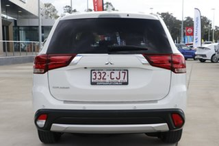 2017 Mitsubishi Outlander ZK MY17 LS 2WD Safety Pack White 6 Speed Constant Variable Wagon