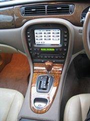 2006 Jaguar S-Type MY06 3.0 Diesel Luxury Red 6 Speed Automatic Sedan