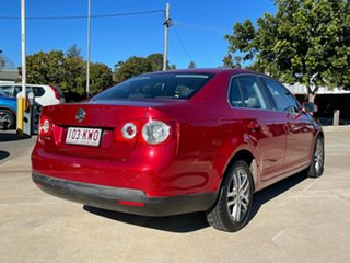 2007 Volkswagen Jetta 1KM MY07 FSI Red 6 Speed Manual Sedan