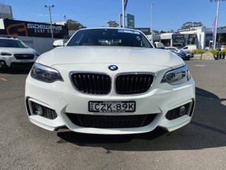 2015 BMW 2 Series F22 220d M Sport White 8 Speed Sports Automatic Coupe.