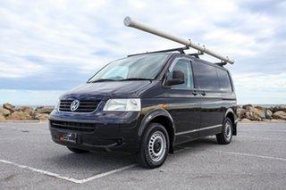 2007 Volkswagen Transporter T5 MY08 Low Roof Black 5 Speed Manual Van