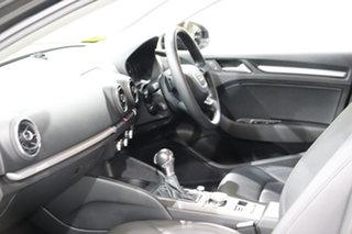 2016 Audi A3 8V MY16 1.4 TFSI Attraction CoD Black 7 Speed Auto Direct Shift Sedan