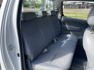 2008 Toyota Hilux GGN15R MY09 SR 4x2 White 5 Speed Automatic Utility