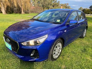 2019 Hyundai i30 PD MY19 Go Intense Blue 6 Speed Manual Hatchback.