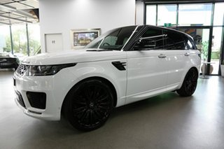 2019 Land Rover Range Rover Sport L494 20MY Autobiography Dynamic White 8 Speed Sports Automatic