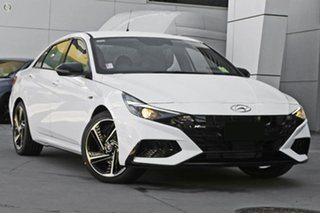 2021 Hyundai i30 CN7.V1 MY21 N Line D-CT Special Edition White 7 Speed Sports Automatic Dual Clutch.