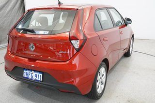 2020 MG MG3 SZP1 MY20 Core Tartan Red 4 Speed Automatic Hatchback