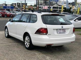 2013 Volkswagen Golf VI MY13.5 90TSI DSG Trendline White 7 Speed Sports Automatic Dual Clutch Wagon.