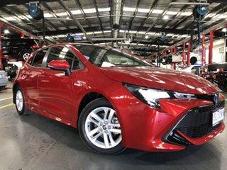2020 Toyota Corolla ZWE211R SX E-CVT Hybrid Feverish Red 10 Speed Constant Variable Hatchback Hybrid.