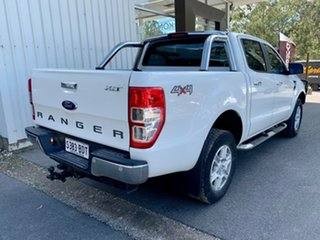 2015 Ford Ranger PX XLT Double Cab White 6 Speed Manual Utility