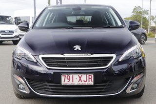 2016 Peugeot 308 T9 MY17 Allure Twilight Blue 6 Speed Sports Automatic Hatchback