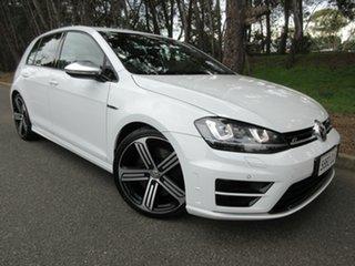 2014 Volkswagen Golf VII MY14 R DSG 4MOTION White 6 Speed Sports Automatic Dual Clutch Hatchback.