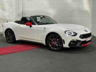 2016 Abarth 124 348 Spider Launch Edition White 6 Speed Sports Automatic Roadster.
