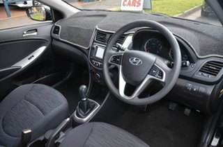 2015 Hyundai Accent RB2 Active Black 6 Speed Manual Hatchback