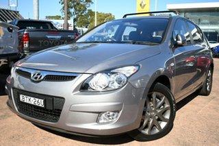 2010 Hyundai i30 FD MY11 SLX Grey 4 Speed Automatic Hatchback.