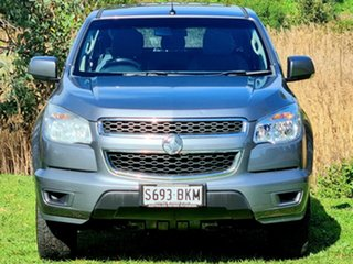 2016 Holden Colorado RG MY16 LS-X Crew Cab Grey 6 Speed Sports Automatic Utility.