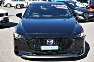 2019 Mazda 3 BP2HLA G25 SKYACTIV-Drive GT Black 6 Speed Sports Automatic Hatchback.