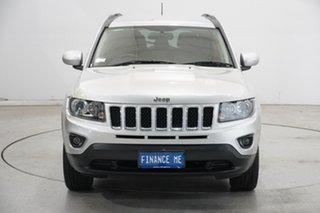 2013 Jeep Compass MK MY14 North Silver 6 Speed Sports Automatic Wagon.