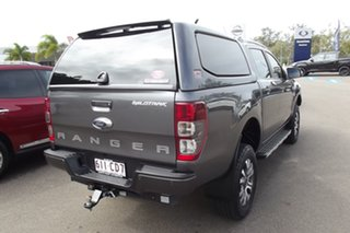 2017 Ford Ranger PX MkII 2018.00MY Wildtrak Double Cab Grey 6 Speed Manual Utility