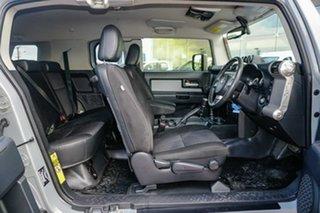 2013 Toyota FJ Cruiser GSJ15R Silver 5 Speed Automatic Wagon