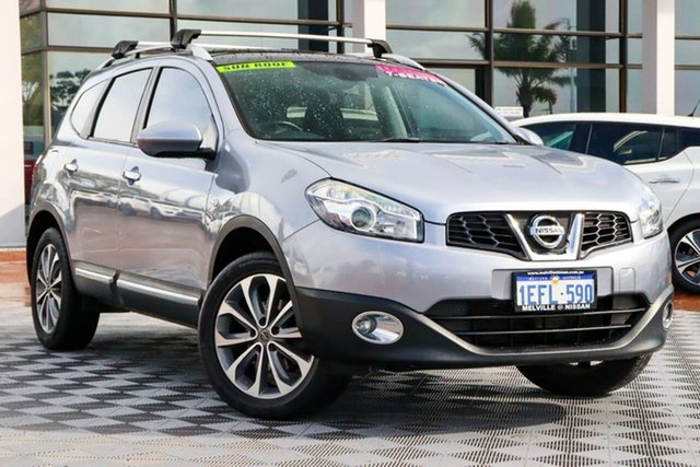Used Nissan Dualis J107 Series 3 MY12 +2 Hatch X-tronic 2WD Ti Attadale, 2013 Nissan Dualis J107 Series 3 MY12 +2 Hatch X-tronic 2WD Ti Grey 6 Speed Constant Variable