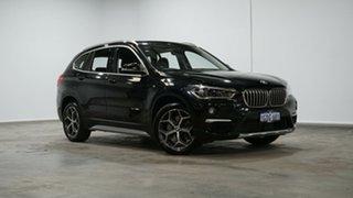 2016 BMW X1 F48 sDrive20i Steptronic Black 8 Speed Sports Automatic Wagon.