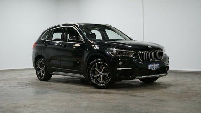 Used BMW X1 F48 sDrive20i Steptronic Welshpool, 2016 BMW X1 F48 sDrive20i Steptronic Black 8 Speed Sports Automatic Wagon