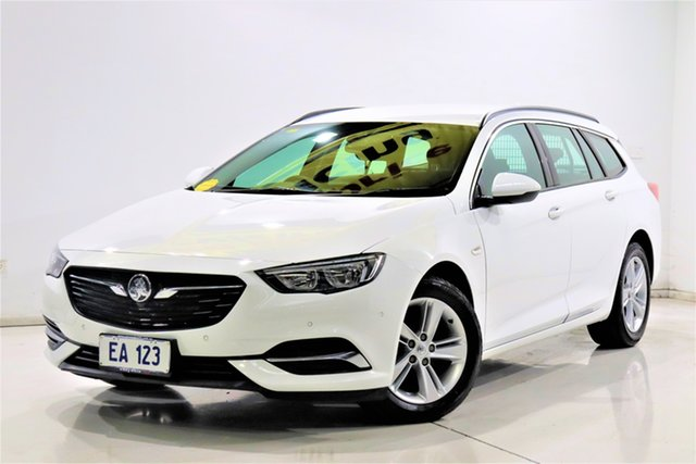 Used Holden Commodore ZB LT Brooklyn, 2018 Holden Commodore ZB LT White 9 Speed Automatic Sportswagon
