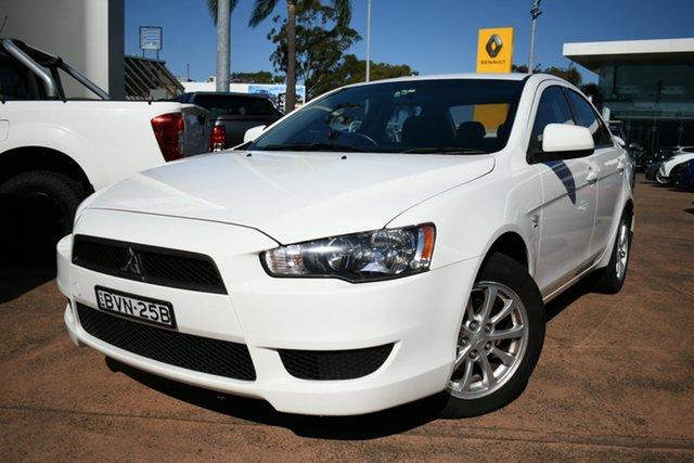 Used Mitsubishi Lancer CJ MY11 SX Brookvale, 2011 Mitsubishi Lancer CJ MY11 SX White 5 Speed Manual Sedan