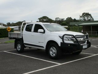2017 Holden Colorado RG Turbo LS (4x4) Alpine White Automatic Cab Chassis.