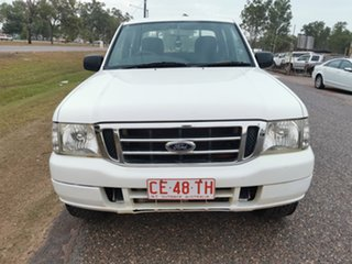 2005 Ford Courier PH XL Crew Cab White 5 Speed Manual Utility.