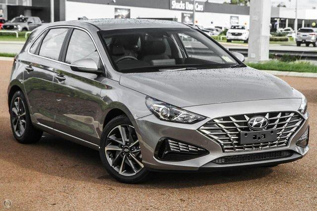New Hyundai i30 PD.V4 MY21 Elite Oakleigh, 2021 Hyundai i30 PD.V4 MY21 Elite Silver 6 Speed Sports Automatic Hatchback