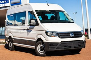 2021 Volkswagen Crafter SY1 MY21 Minibus MWB FWD TDI410 Candy White 8 Speed Automatic Bus.