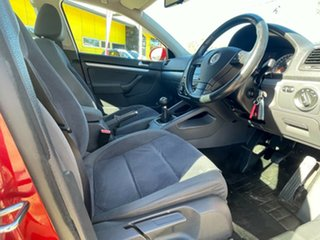2007 Volkswagen Jetta 1KM MY07 FSI Red 6 Speed Manual Sedan.