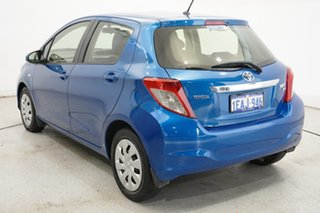 2012 Toyota Yaris NCP131R YRS Blue 4 Speed Automatic Hatchback.