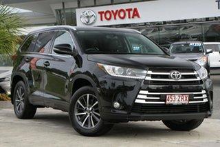 2017 Toyota Kluger GSU55R GXL AWD Eclipse Black 8 Speed Sports Automatic Wagon.